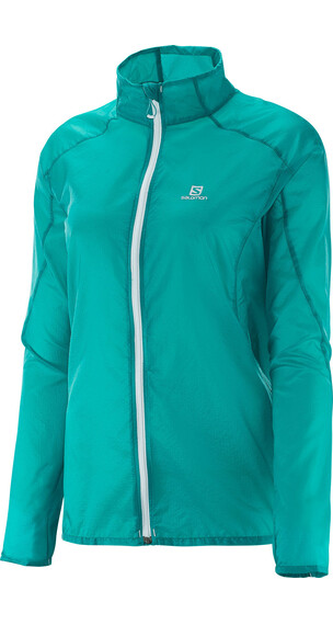 Salomon W's Fast Wing Jacket Teal Blue F
